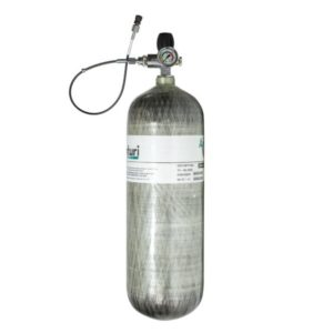 Air Venturi Carbon Fiber Charging Station, 4500 psi, 98 cu ft