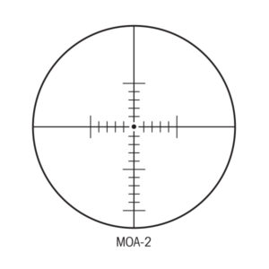 Sightron MOA-2 Reticle