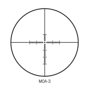Sightron MOA-3 Reticle