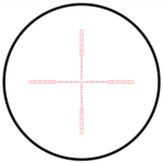 Hawke 10x Reticle