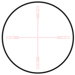 Hawke 20x Reticle